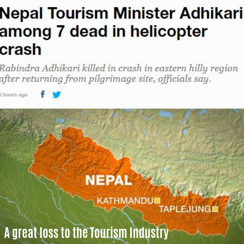 Great Loss to Tourism Industry